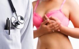 Женщина у врача маммолога