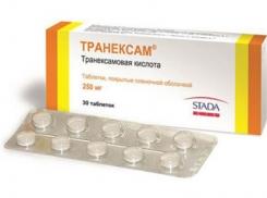 Вид препарата в таблетках